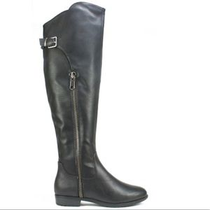 Black RIALTO Over the knee boots